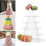 Présentoir à macarons à 6 étages, présentoir à  gâteaux, nourriture pour mariage et anniversaire
