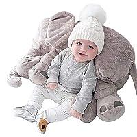 Plush Elephant Pillow Baby Sleeping Pillow Soft Sofa Cushion Plush Animal Dolls and Toys Children