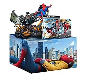Spider-Man Homecoming [Limited Edition 4K UHD + Blu-ray + Figurine + Comic] [2017] [Region Free]