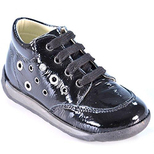 Falcotto - Falcotto scarpe bambina nero lucido 1223 Noir