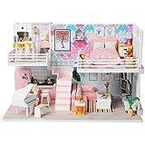 DIY-Kabinen-handgemachtes Landhaus-Modell innovative Spielhaus-Spielwaren