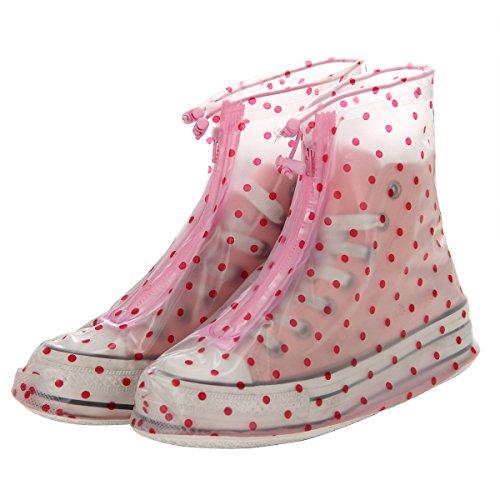 Reusable Waterproof Guard Slip-resistant Women Girls Shoes Cover