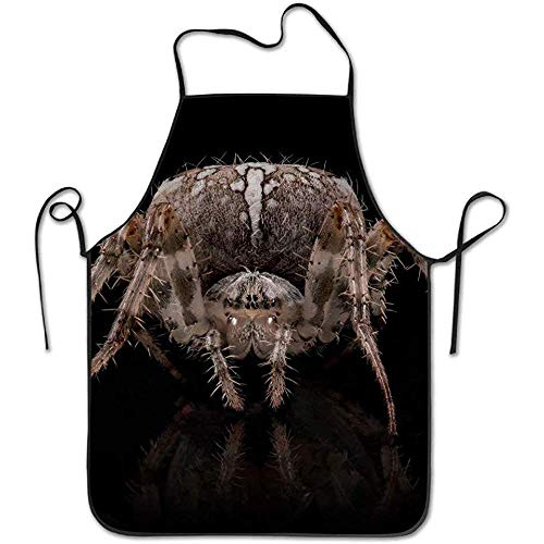 ouyjian Restaurant Aprons Macro Spider Animals 500px Deluxe Cooking Aprons,Funny Fashion Chef Apron Applies to Men and Women (Kind Spider Mann Deluxe Kostüm)