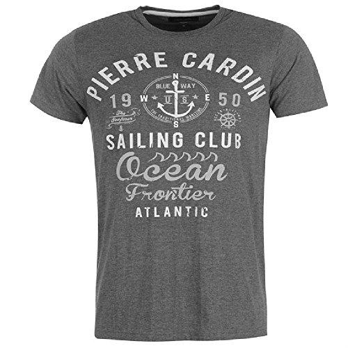 Pierre Cardin Herren T-Shirt Grau - Grau