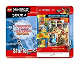 Top Media 180316 Lego Ninjago Series IV Starter Pack Collector Folder 1 Booster Limited Gold Card and XXL Card Multi-Coloured