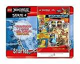 Top Media 180316 Lego Ninjago Serie IV, Starterpack, Sammelordner, 1 Booster, Limitierte Goldkarte und XXL Karte, bunt