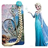 #9: NEW FROZEN PRINCESS ELSA PLAIT TIARA AND WAND SET BY BABY AND BLOSSOMS