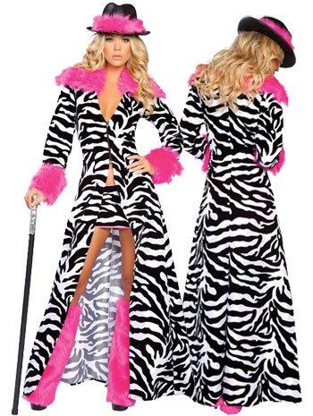 DLucc Zebra Eröffnungstanz Stadiumsleistungskleidung Jazz- Magiers neue Kleider Halloween-Kostüme (Jazz Halloween Kostüme)