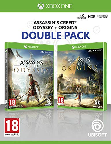 double pack: assassin's creed odyssey + assassin's creed origins - xbox one [edizione: spagna]
