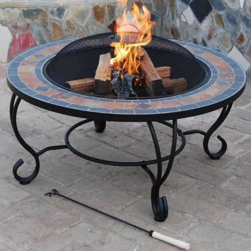 fire-pit-bbq-89-cm-and-coffee-table-villa-beacon-natural-slate-top-bbq-grid-spark-guard-poker-weathe