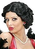 Magic Box Int. Lockige Schwarze Betty Boop Style Perücke für Damen