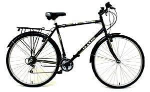 Classic Men's Touriste Commuter Bike - Black ( Wheel 700C, Frame 22 Inch)