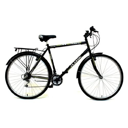 51u7xjSBHLL. SS500  - Classic Men's Touriste Commuter Bike - Black ( Wheel 700C, Frame 22 Inch)