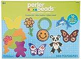 Perler 273.073 Perler Bead Diversi-n Fusi-n Fusible Valor Actividad Kid Kit-Creativo