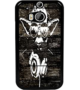 ColourCraft Amazing Art Design Back Case Cover for HTC ONE M8