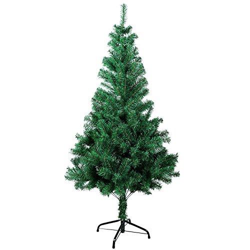 Rbol de navidad artificial rbol espeso y lujo verde - Arboles artificiales navidad ...