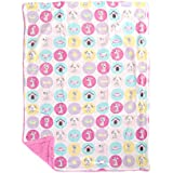 Mee Mee Soft Baby Blanket (Double Layered, Light Pink - Puppy Print)