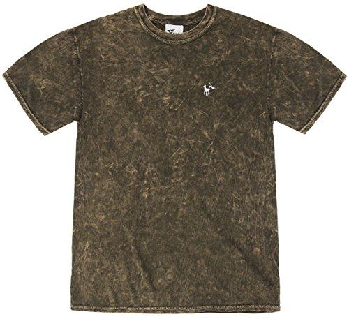 Polo Inspired by Echo3 Herren T-Shirt, Einfarbig Braun
