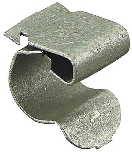Erico 187630Metallic 100pièce (S) Kabelboxen und Kabelbinder–ranges-câbles und Satellitenempfängers (Metallic, 100Stück (S))