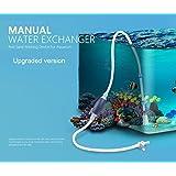 Tanque de pescado manual Sand Washer Filtro de acuario Filtro de agua de grava con sifón