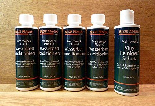 5-tlg-set-blue-magic-4-konditionierer-1-reiniger-wasserbett-conditioner