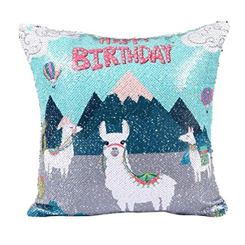 Diy alpaca glitter paillettes cuscini decorativi cuscino,yanhoo copricuscini decorativi da letto,cuscini decorativi e accessori,biancheria da letto per natale, san valentino,matrimonio