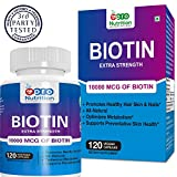 Best Naturals Biotin - Pronutrition 100% Natural Biotin 10000 Mcg Capsules Review