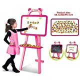 Samaira Toys Easel 3 In 1 Learning Reading Writting Educational Blackboard