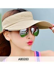 Hyun times Chapeau solaire occasionnel à la marée sauvage anti-UV et au soleil