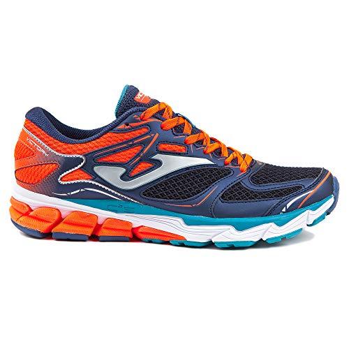 Joma Victory Men, Scarpe da Trail Running Uomo, Blu (Marino/Naranja 803), 42 EU