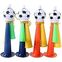 Lecimo 13*3cm Altavoces Deporte Fans Aficionados a la Copa Mundial clap claxon de fútbol Cuernos de fútbol Cheerleading