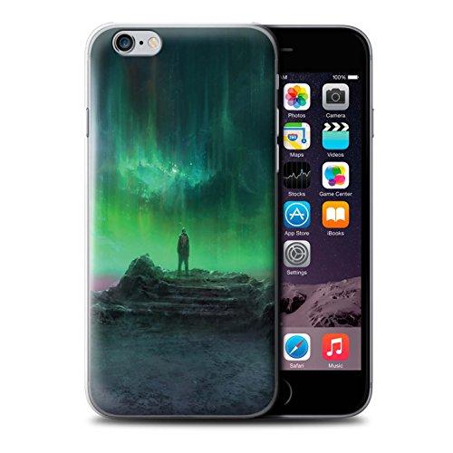 Offiziell Chris Cold Hülle / Case für Apple iPhone 6 / Polarlicht Muster / Fremden Welt Kosmos Kollektion Polarlicht