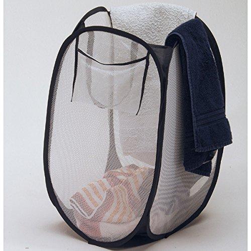 Wäschetonne Flip Flop Two platzsparend zusammenfaltbar ultraleicht Pop Up Wäschekorb Faltbar Wäschesortierer Wäschesammler Wäsche Korb Aufbewahrung