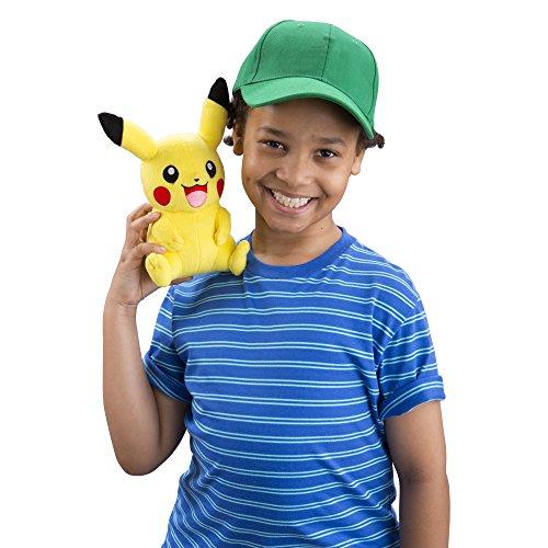 Tomy Pikachu peluche–Pokémon Peluche 20cm de haute qualité–pour jouer et à collectionner–à partir de 3ans 8900805337955