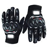 #1: Andride Probiker Leather Motorcycle Gloves Black (M)