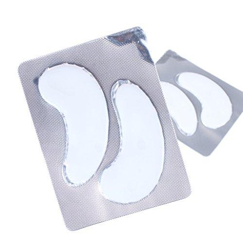 10 Paar Anti Aging Anti-Falten-Gel Crystal Collagen Augenmaske, Collagen Eyelid Patch, Feuchtigkeitscreme für unter Augenfalten, entfernen Sie Taschen unter den Augen, Eye Bag Entfernung, unter den Au (Serum Feuchtigkeitscreme)