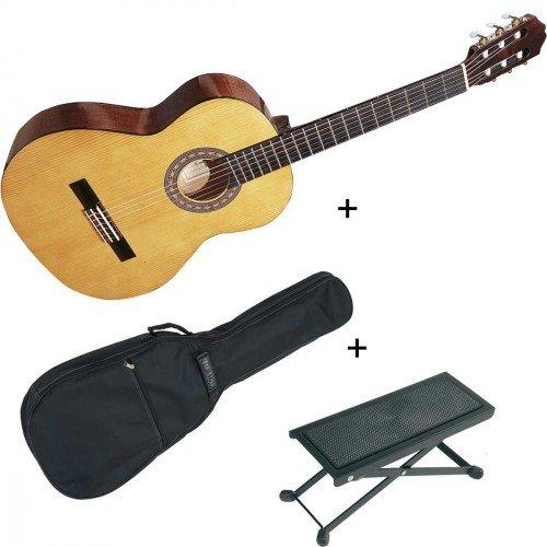 pack-santos-y-mayor-9b-naturelle-guitare-4-4-classique-dtude-housse-repose-pieds