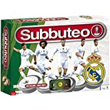 Real Madrid - Playset Subbuteo, new edition, color blanco (Eleven Force 81038)