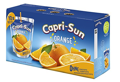 Capri-Sun Orange, 4 x 10 x 200 ml