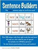 Sentence Builders: The ONLY Sentence Strips Set You'll Ever Need!: Volume 2 (Literacy Builders)