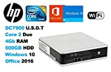 DC7900 Ultra Slim Desktop Intel C2D E8400 3.0Ghz HP 20
