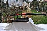 Handgeschmiedetes-Gefaltetes Damaszener Samurai Schwert Monkey Katana