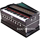 Laying Style Best Harmonium 9 Stopper, Chudidaar Bellow, 42 Key, Two Reed, Bass-Male, Kapler, Harmonium With Cover