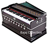 Laying Style™ Best Harmonium 9 Stopper, Chudidaar Bellow, 42 Key, Two Reed, Bass-Male, Kapler, Harmonium With Cover