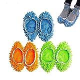 Waschbar Staub Mopp Hausschuhe Reinigung Mop Hausschuhe Schuhe Staub Reiniger Boden Schuhe Cover