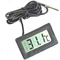 Compre show Termometro Digitale LCD Monitor di Temperatura con sonda Esterna Impermeabile per Frigorifero Acquario  Acquario Frigorifero Acquario Termostato di Temperatura dell  39 Acqua Nero