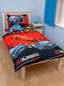 Character World Disney Cars 2 Espionage Single Rotary Duvet Set