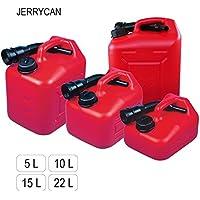 """Muy útil tanque de combustible """"JERRYCAN"""" en volumen 5, 10, 15 e 22 l, polietileno HDPE (10 l)"""