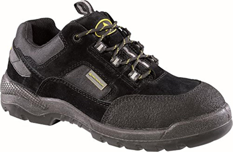 Delta plus calzado - Zapato piel pelo/poliester poliuretano/poliester negro talla 43