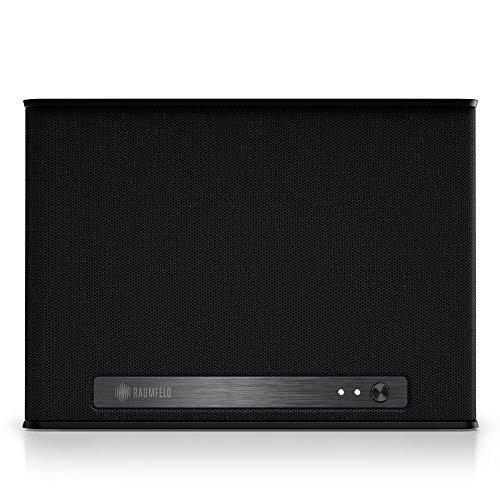 Teufel Raumfeld One S Mini-WLAN-Lautsprecher schwarz (Streaming, WLAN, Spotify, kabellos, Multiroom, App, drahtlos)